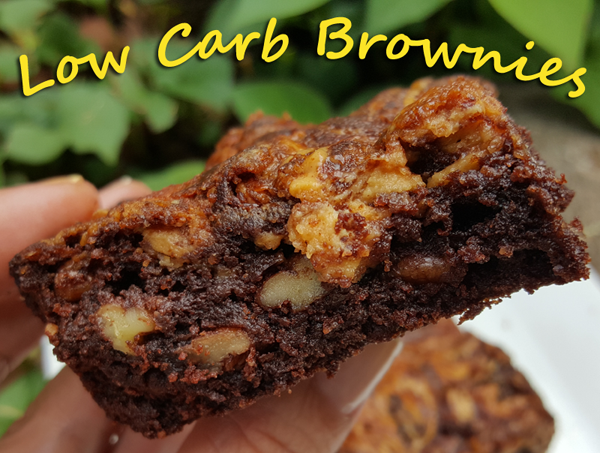 Delicious Low Carb Brownie Recipe