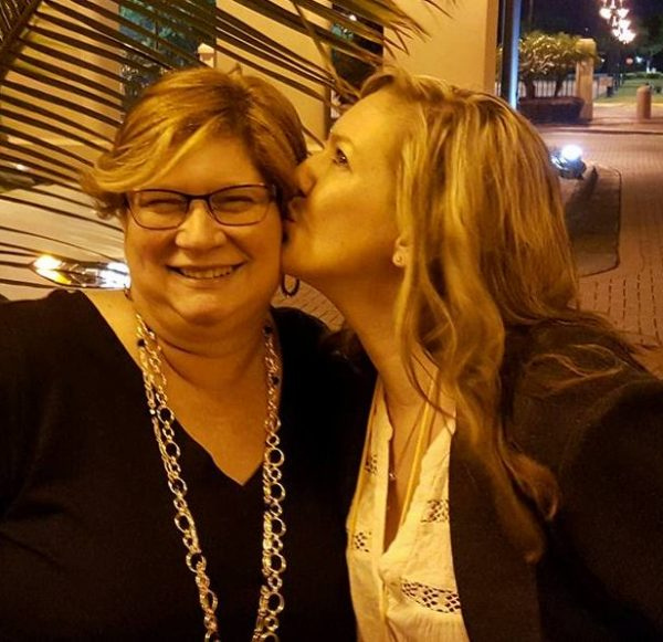 Lynn Terry and Tracy Roberts in Orlando