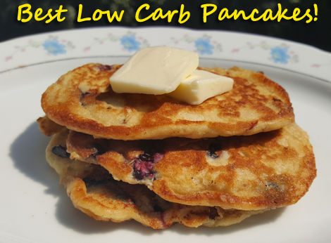 Best Low Carb Pancakes