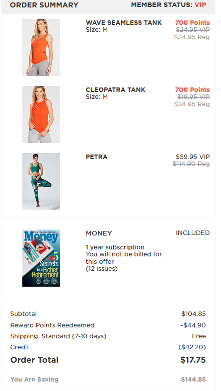 Fabletics Savings