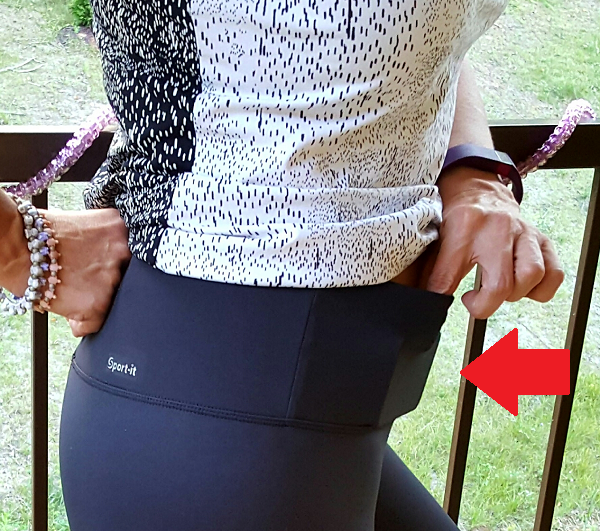 Go Sport It Workout Pants with Hidden Pocket