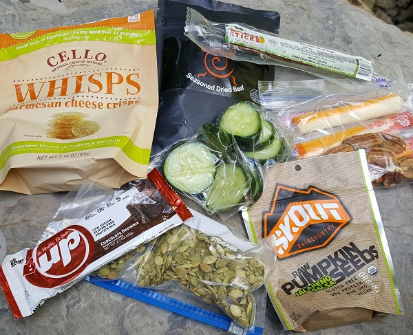 Low Carb Hiking Foods