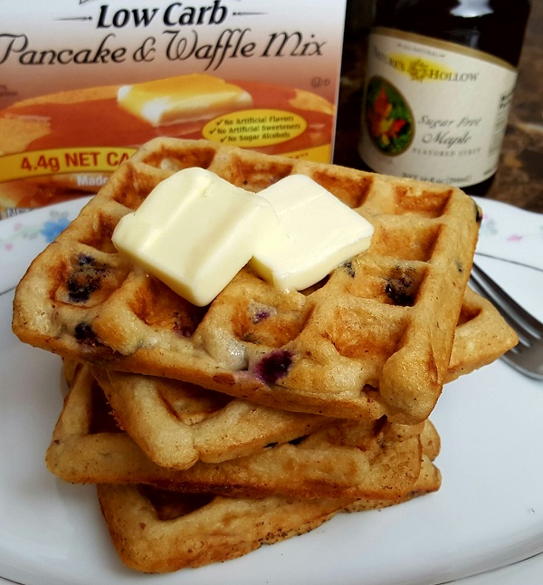 Low Carb Waffles - Delicious!!