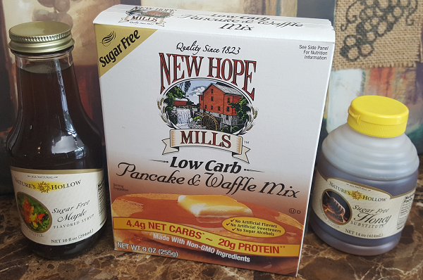 New Hope Mills Sugar Free Low Carb Pancake & Waffle Mix