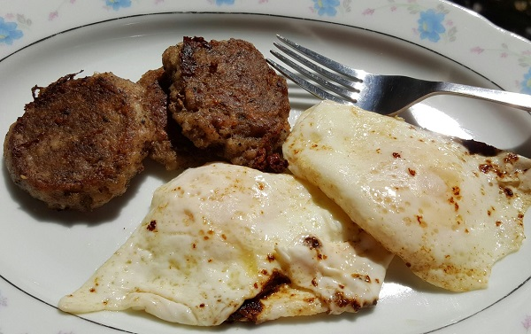 Sausage & Eggs - Zero Carb Meal