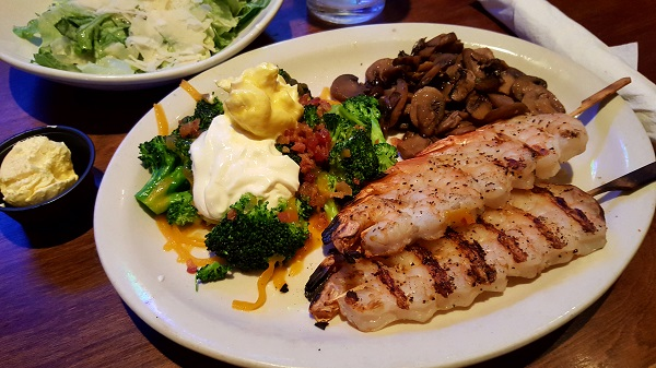 Low Carb Meal at Logan's Roadhouse