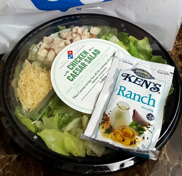 Domino's Low Carb Salads