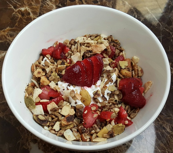 Healthy LCHF / Low Carb Breakfast Cereal