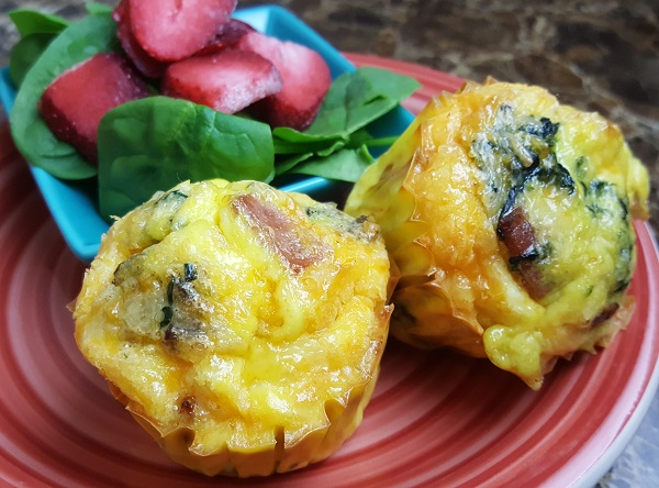 Low Carb Crustless Quiche Muffins