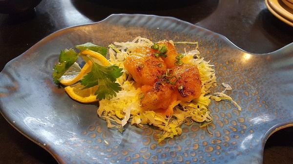 Spicy Baked Scallops at Sakura Japanese Steakhouse