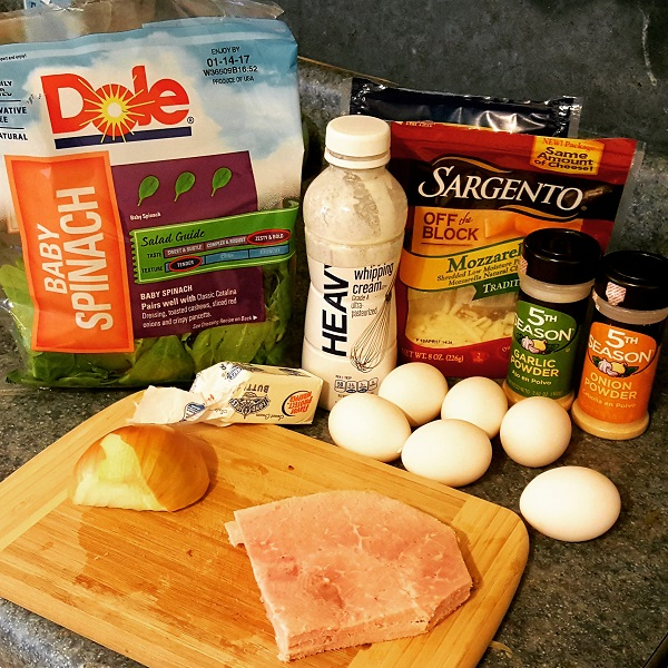 Low Carb Omelet Ingredients