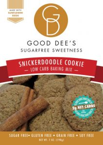 Low Carb Snickerdoodle Cookie Baking Mix