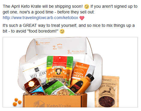 Keto Krate Low Carb Food Delivery