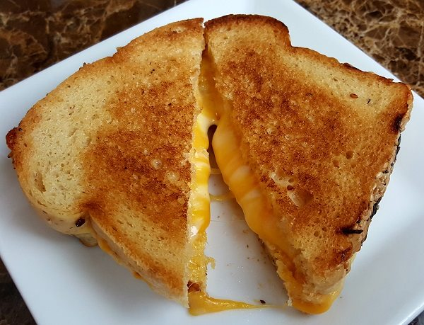 Low Carb Grilled Cheese Sandwich