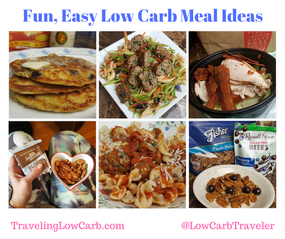 New & Interesting Low Carb Food Ideas