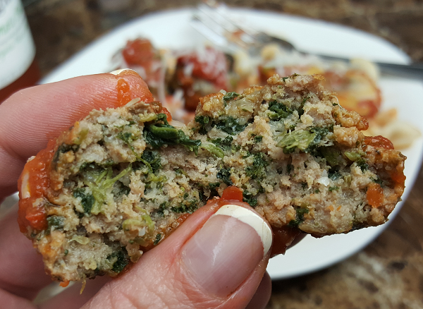 Low Carb Spinach Meatball Recipe