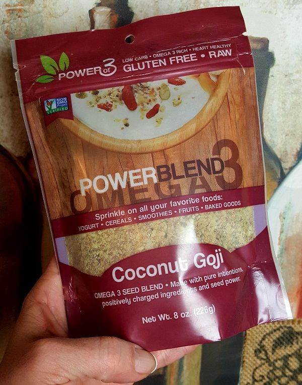 Powerof3 Omega 3 Power Blend - Gluten Free, Low Carb Health Food