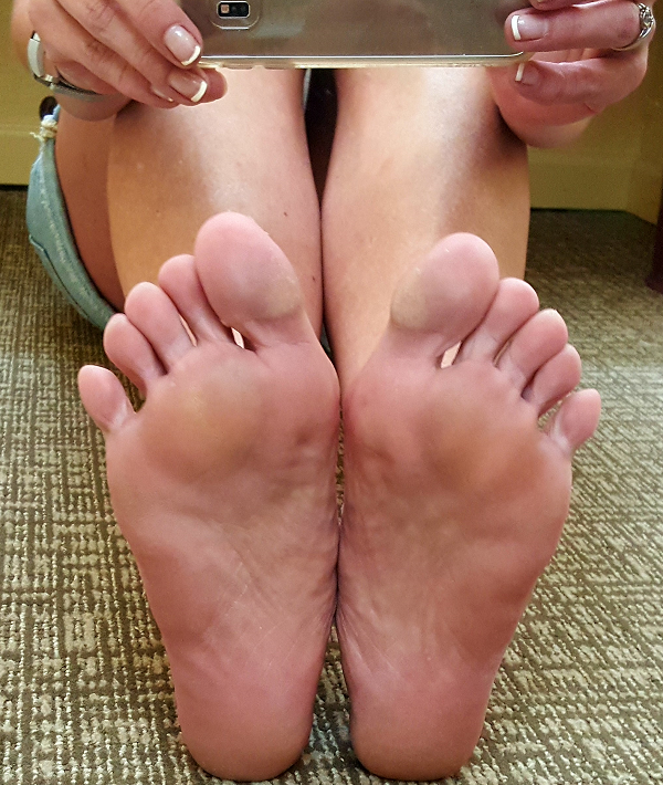 Dancing Feet - Ouch!