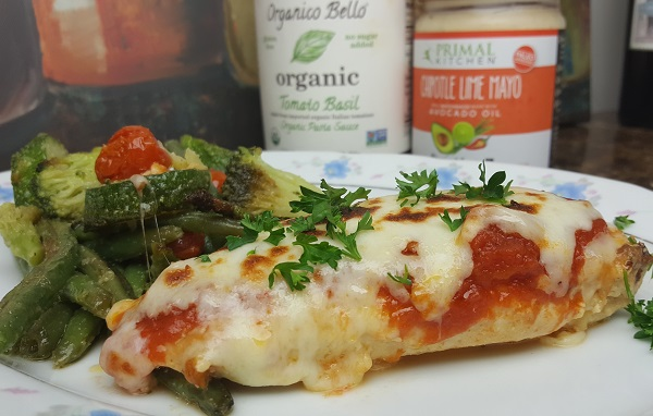 Low Carb Chicken Parmesan - with a Kick! :)