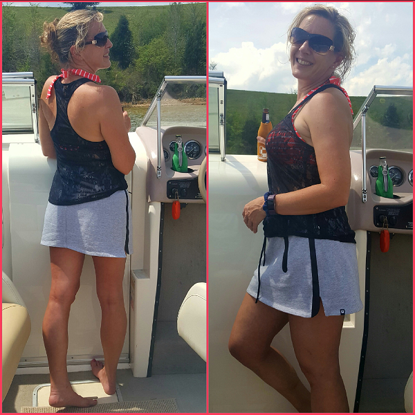 My Fabletics outfit on the Lake