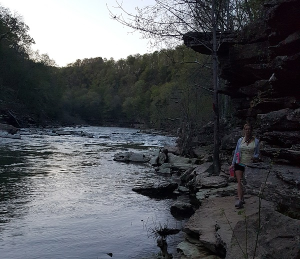 Night Hiking in Rock Island, TN
