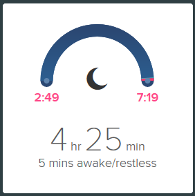 Sleep Quality Tracking