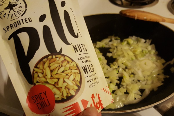 Cooking with Pili Nuts