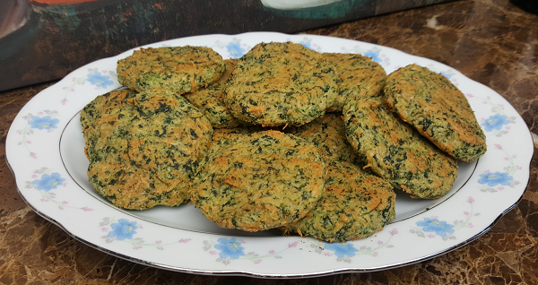 Low Carb Spinach Biscuits Recipe