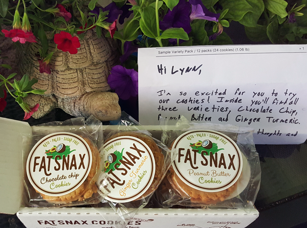 FatSnax Review - Organic LCHF Gluten Free Cookies