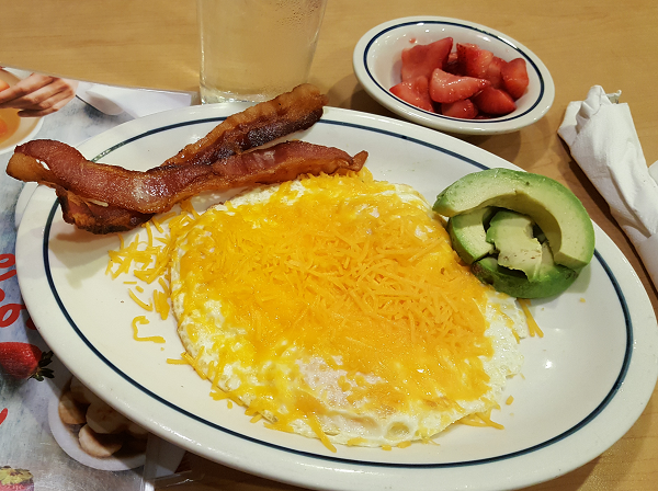 Eating Low Carb at iHop