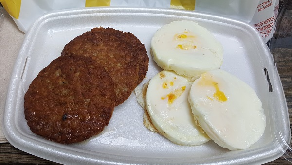 Easy Low Carb Food from McDonald's - All Day Breakfast 24/7