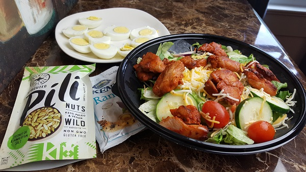 Low Carb Roasted Chicken Bites Salad from Bojangles'