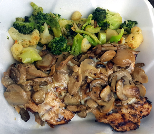 Low Carb Take-Out Meal