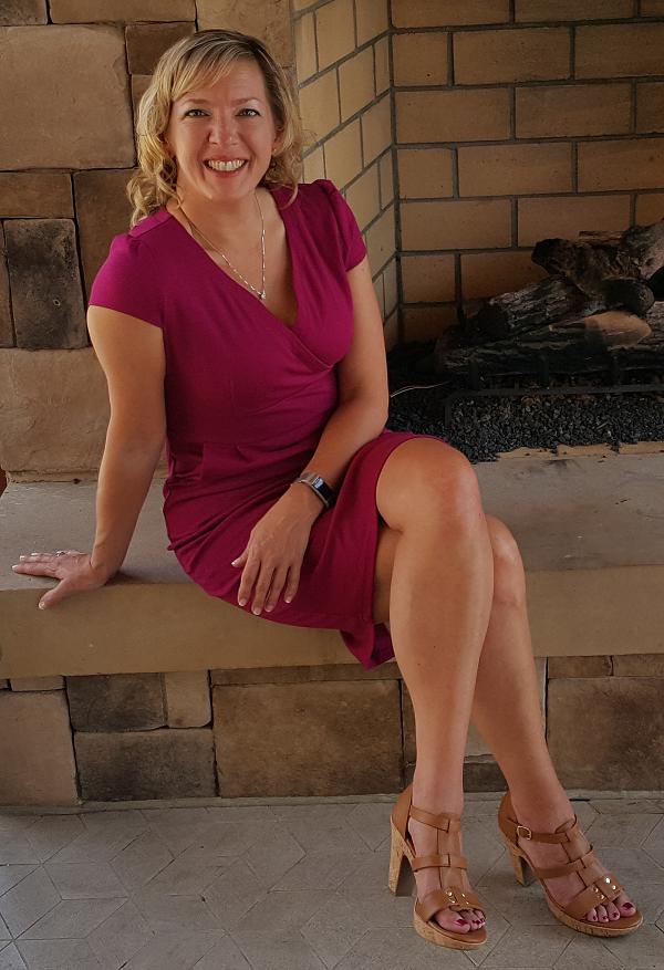 Lynn Terry aka LowCarbTraveler, working in Raleigh NC