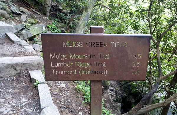 Meigs Creek Trail in the Smoky Mountains
