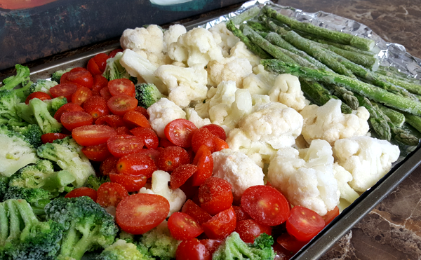 Roasting Low Carb Vegetables