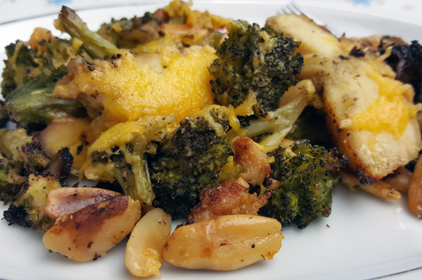 Easy Low Carb Bake: Chicken & Broccoli