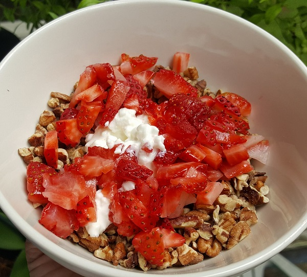 Gluten Free Low Carb Breakfast Cereal Idea