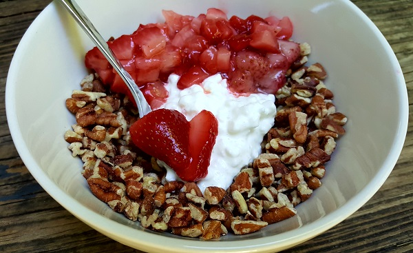 Gluten Free LCHF Breakfast Idea