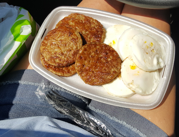 LCHF Fast Food from McDonald's
