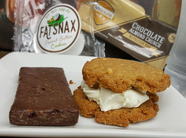 FatSnax and a Keto Brownie - Low Carb Snack Foods