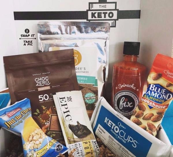 The Keto Box - Low Carb Food Ideas