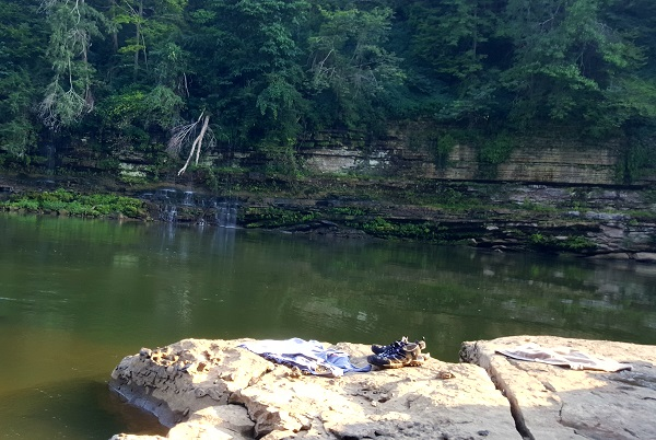 Blue Hole at Rock Island