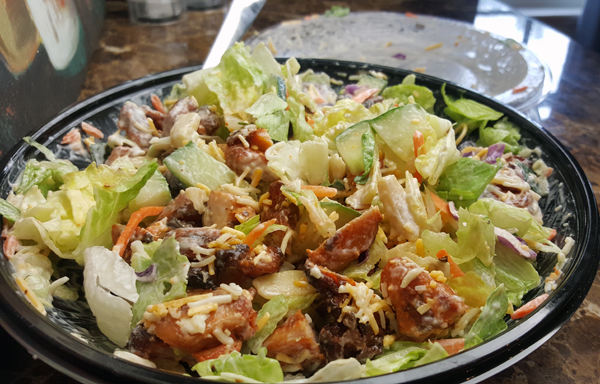 Low Carb Salad from Bojangles'