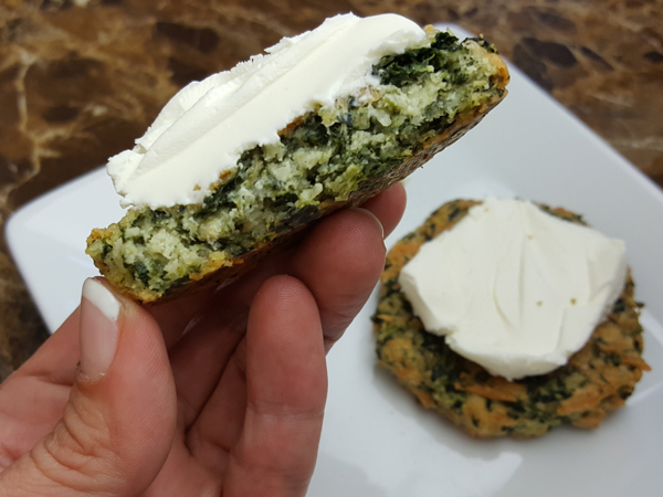 Low Carb Spinach Bread - Gluten Free, LCHF