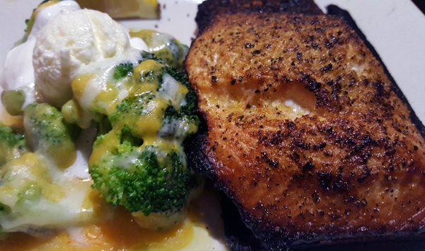 Low Carb Dinner at O'Charley's