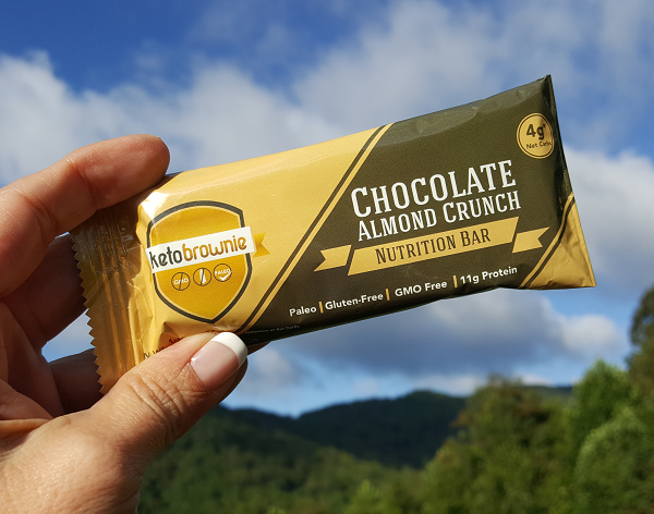 Keto Brownie Low Carb Nutrition Bar