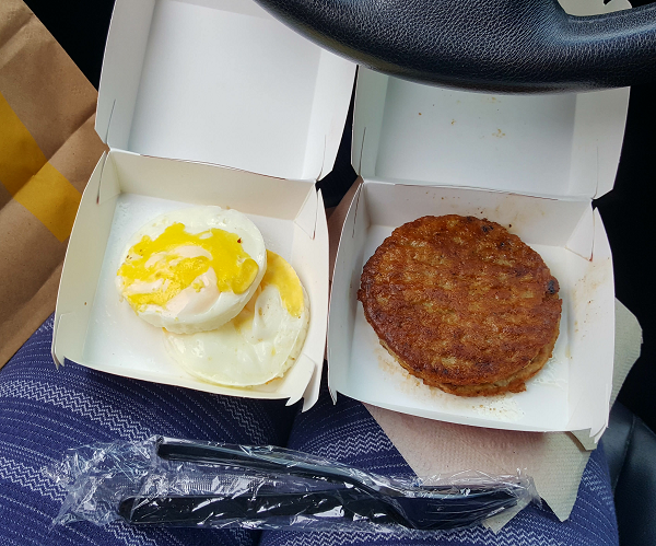 Low Carb Breakfast at McDonald's (Low Carb Road Trip)