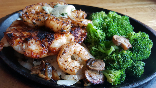 Eating Low Carb at Applebee's Bar & Grill