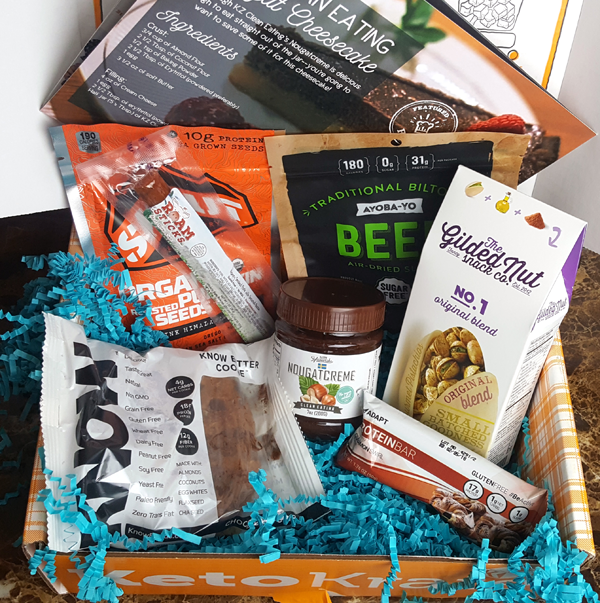 September Keto Krate Review - A Box Full of Low Carb Fun!